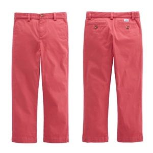 Vineyard Vines Boy's Jetty Red Breaker Pants NWT